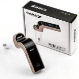 FM Bluetooth трансмитер със зарядно за автомобил Carg 7