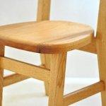 木 製 子ども椅子 クルミ