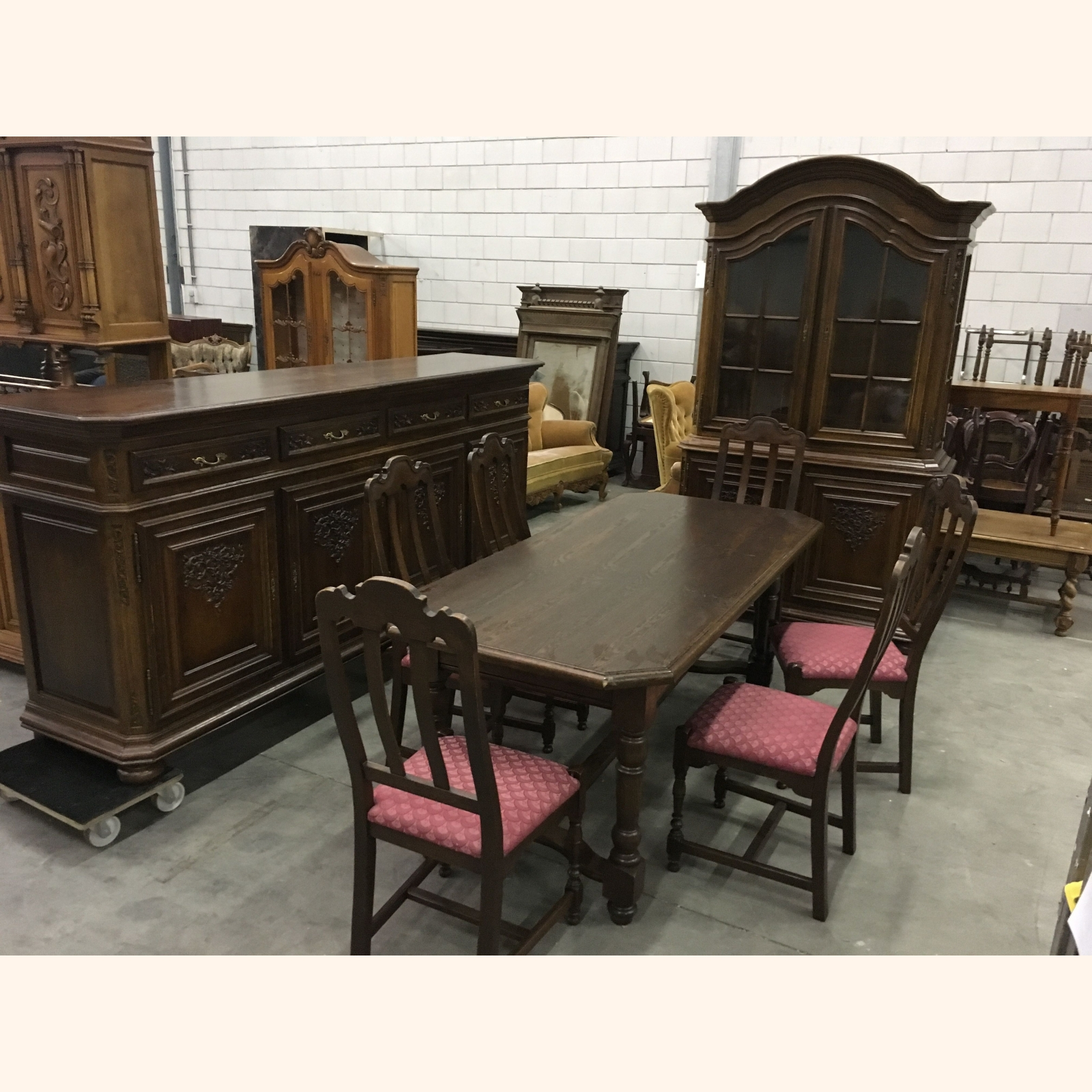 A++ A 43 43 Solid Wood Dining Room Furniture Sets Mix 1m3 A