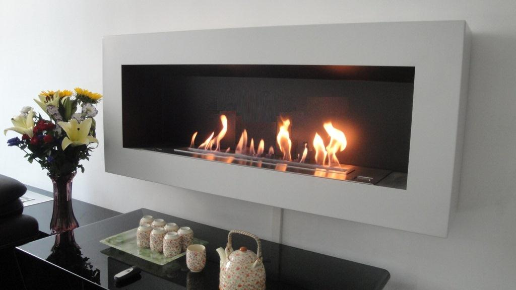 Kamin Mit Ethanol Smart Ethanol Fireplace With Remote Control & Safety