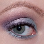 violet mauve Eyes Of The Day bleu 