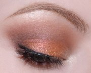 orange Eyes Of The Day brun bronze