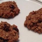 Spelt Oatmeal Raisin Cookies