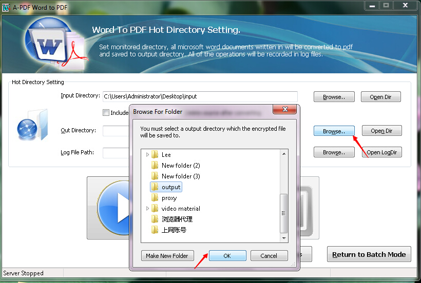 How to convert MS Office Word file to PDF file with Hot Directory - Convert File To Pdf