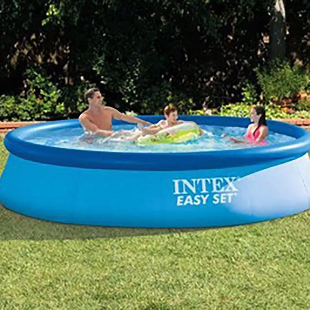 Piscinas Intex Site Piscina Easy Set 5621 Litros Com Bomba Filtro 127v Intex