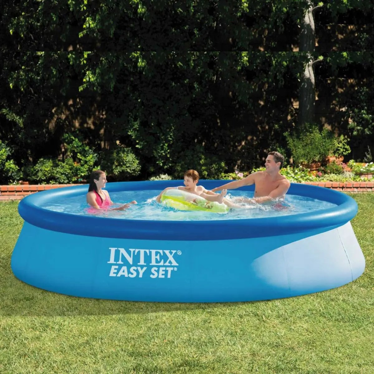 Piscinas Intex Site Piscina Inflável Easy Set 7 290 Litros Intex