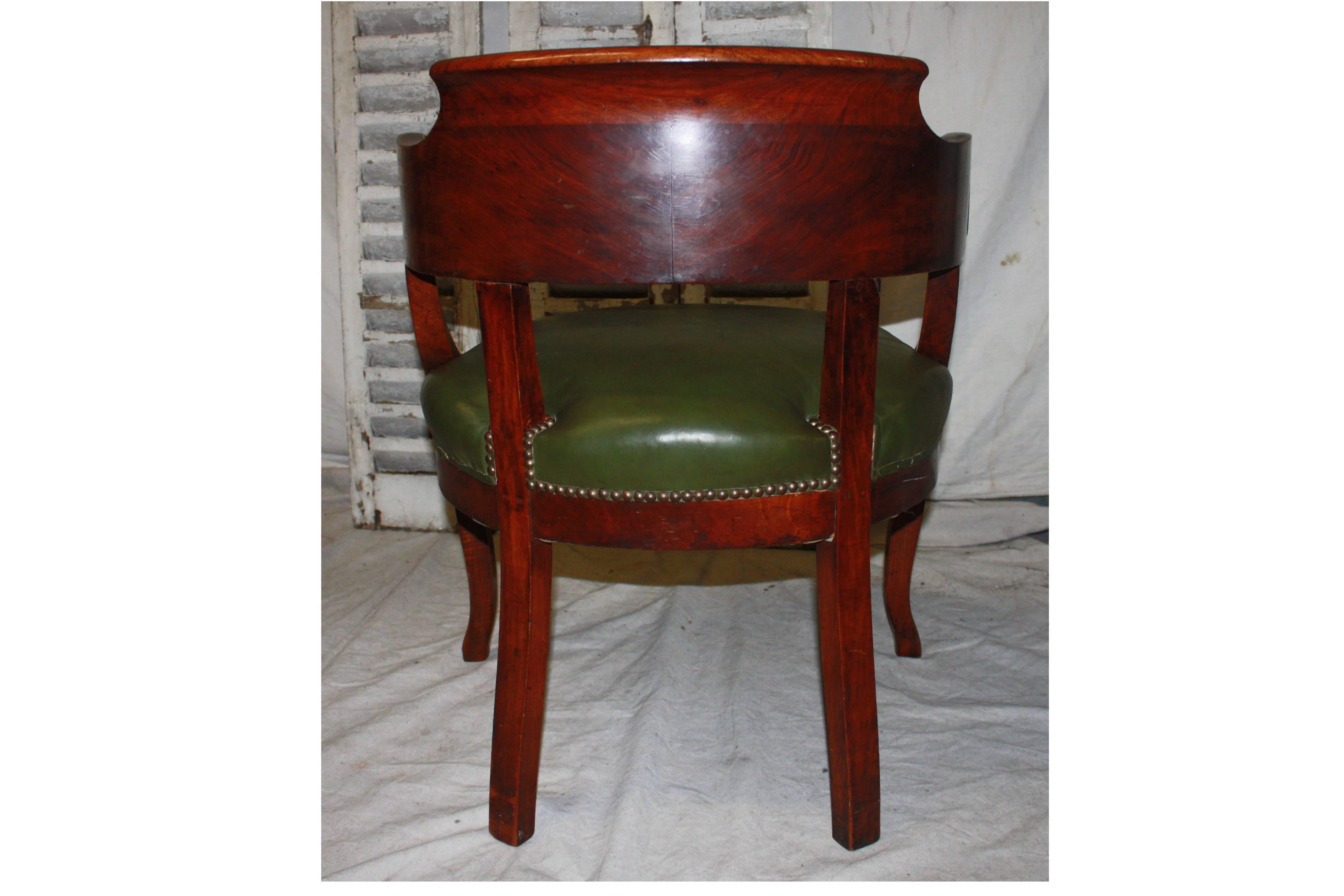 19th Century French Desk Chair For Sale At 1stdibs