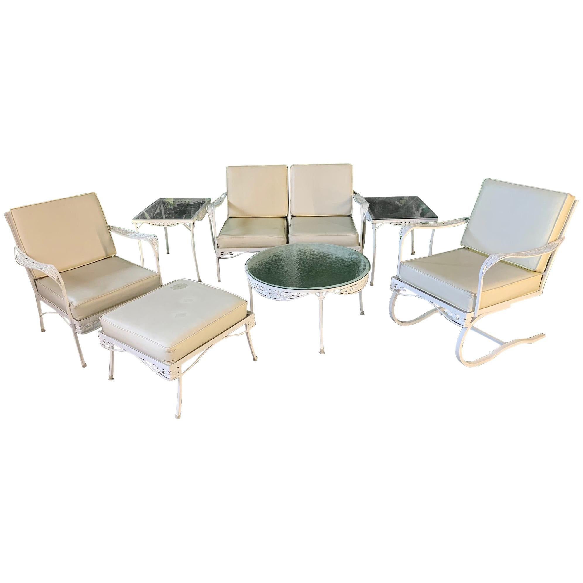 7 Piece Patio Set 7 Piece Midcentury Patio Set In The Style Of Russell Woodard