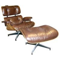Iconic Lounge Chair and Ottoman Designed by Charles Eames ...