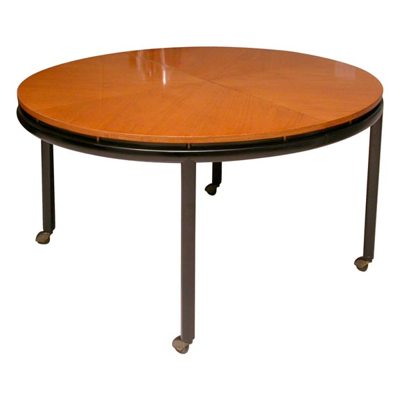 Round Baker Dining Table At 1stdibs