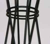 Fench / Atomic coat rack cica 1950 at 1stdibs