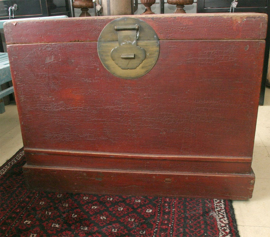 Chinese Blanket Chest At 1stdibs
