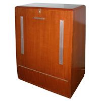 Machine Age Art Storage Cabinet at 1stdibs