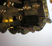 Giant Gold Vein Venetian Style Mirror at 1stdibs
