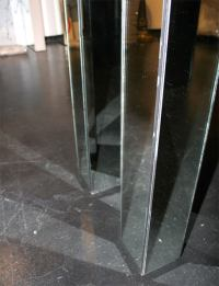 Mirrored Parsons Console at 1stdibs