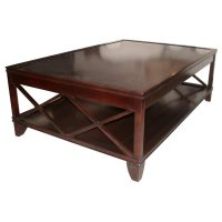 Coffee Table 60 inches available in Ebonized Walnut/Black ...