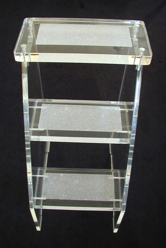 Quotsocial Climberquot Lucite Step Stool Dragonette Private