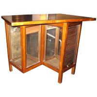 roll top library cabinet at 1stdibs