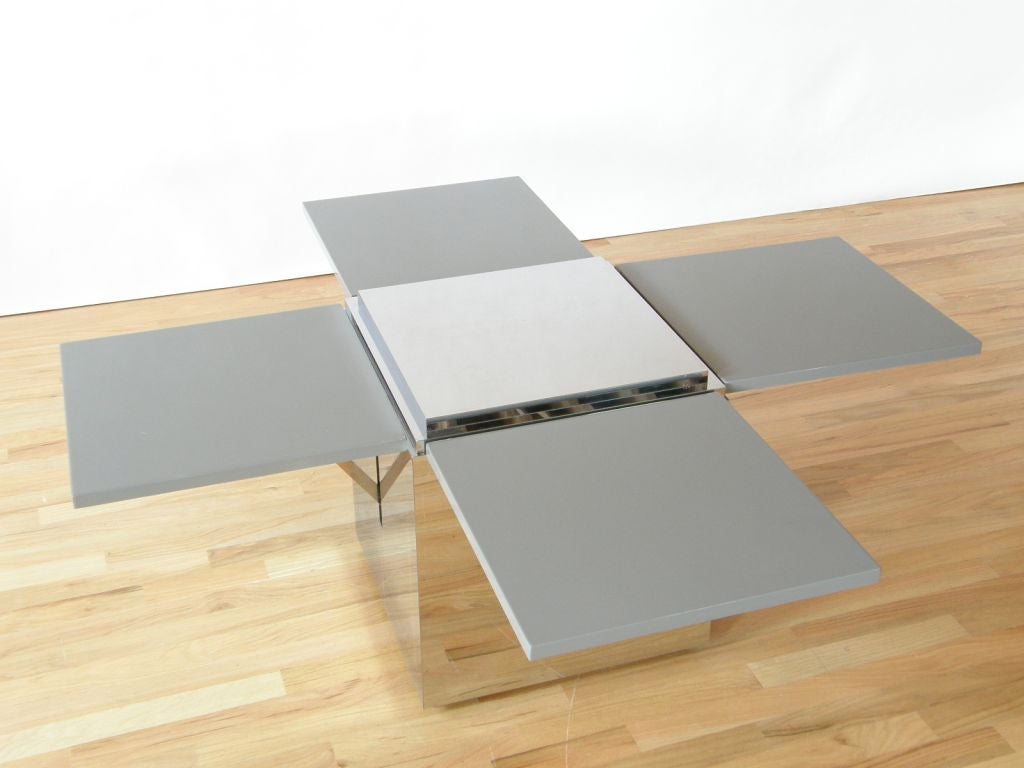 Flip Up Coffee Table Cube Table With Flip Up Sides At 1stdibs