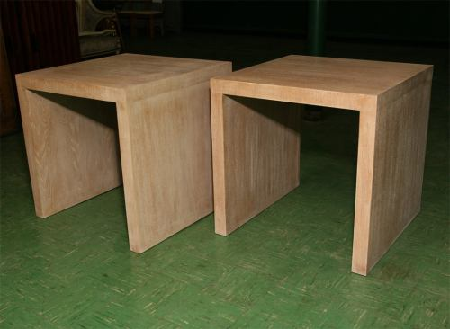 Medium Of Oak End Tables