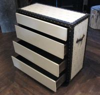 styley steamer trunk bedside table at 1stdibs
