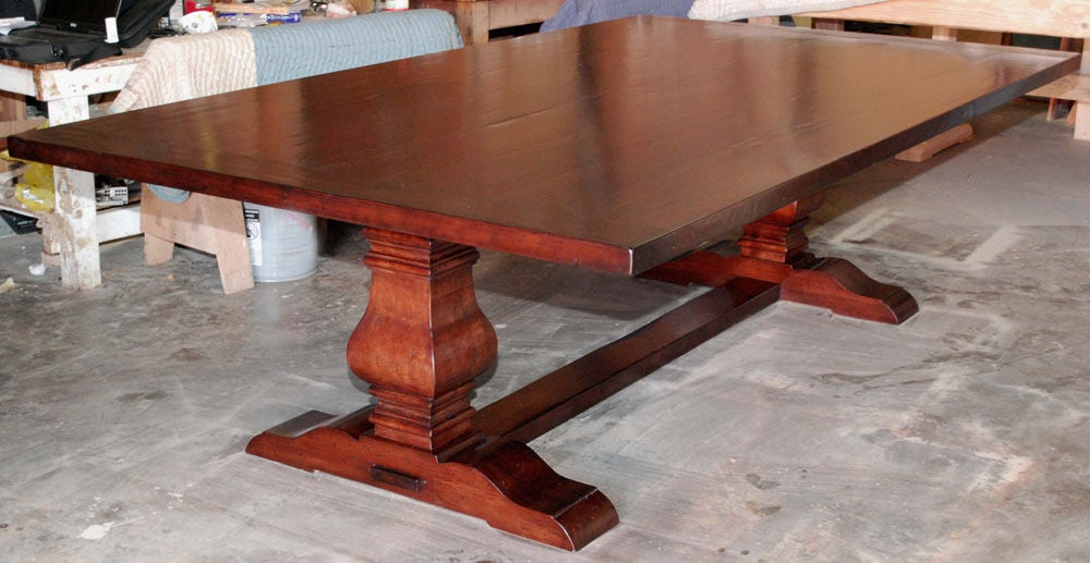 Custom Dining Table Banquet Table In Distressed