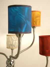 c.1960 Vintage American Chrome 6 Light Lamp w/Original ...
