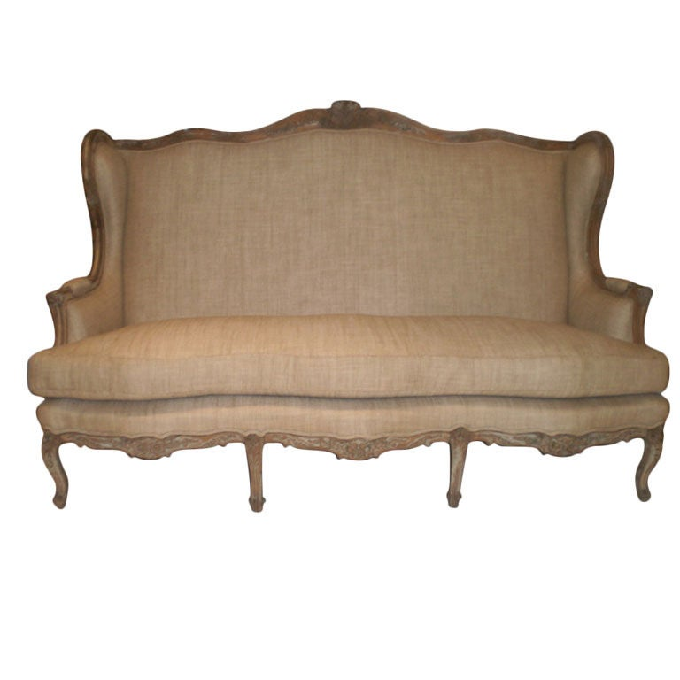 Canape Sofa 19th Century French Louis Xv Style Canapé Or Sofa