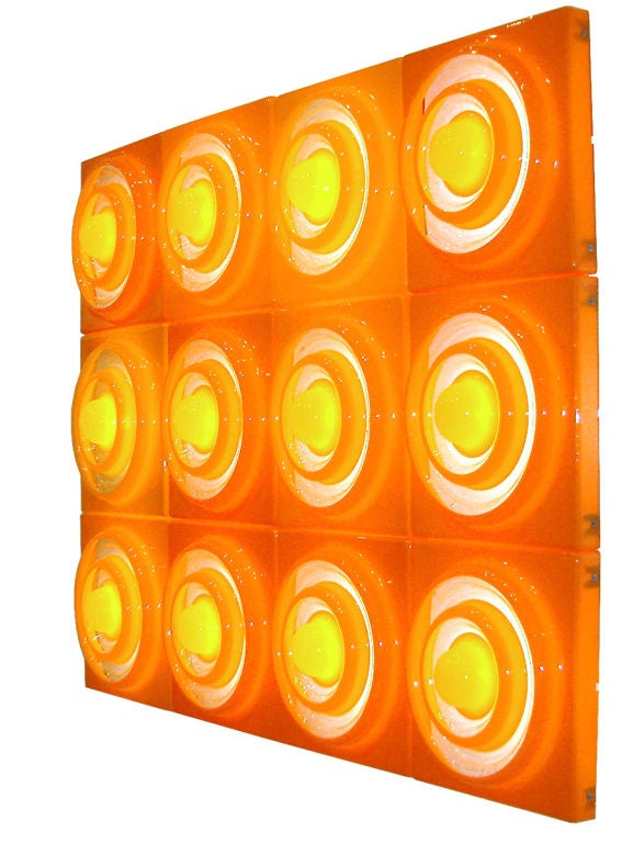 "Louis Poulsen Panthella Illuminated ""ring"" Lamp By Verner Panton At 1stdibs"