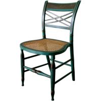 Painted Fancy Chair at 1stdibs