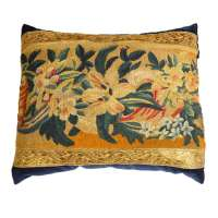 Antique Tapestry Pillow at 1stdibs