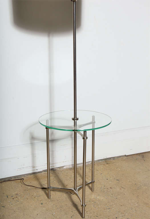 Laurel Lamp Table combination at 1stdibs