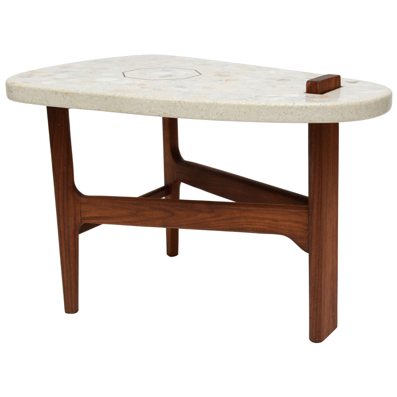 Surfboard Tables For Sale Style Of Harvey Probber Surfboard Side Table At 1stdibs