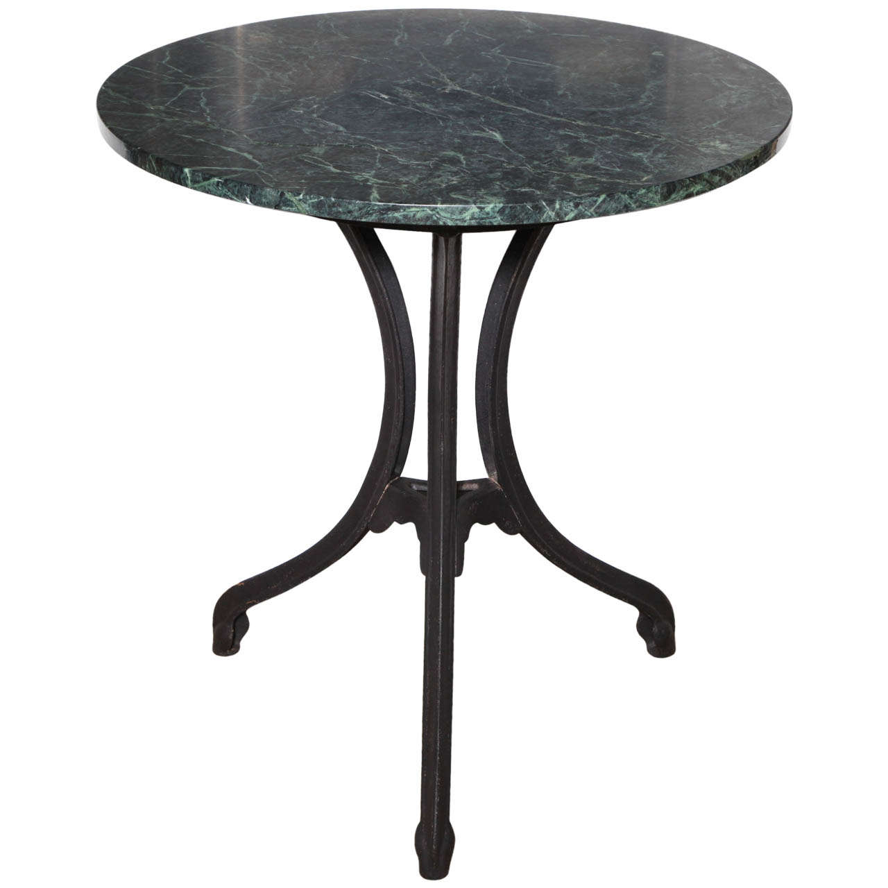 Cafe Table Vintage Marble Cafe Table