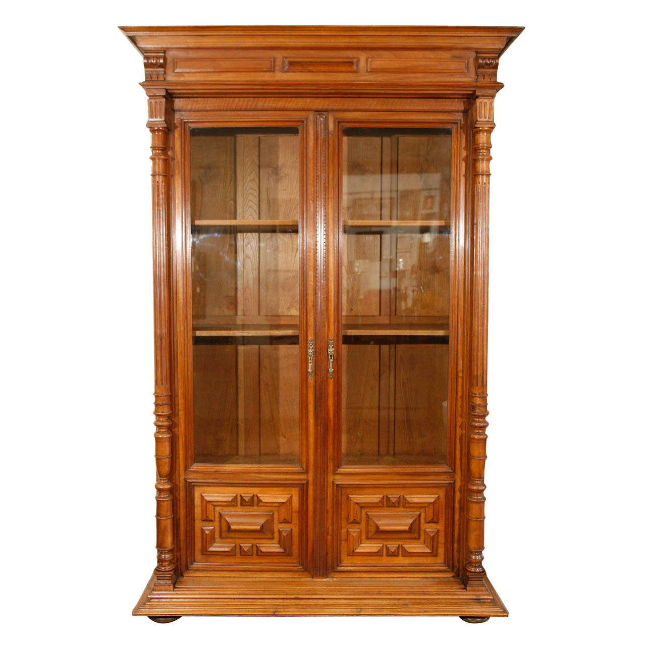 Bibliothèque 19th C French Bibliothèque Bookcase For Sale At 1stdibs