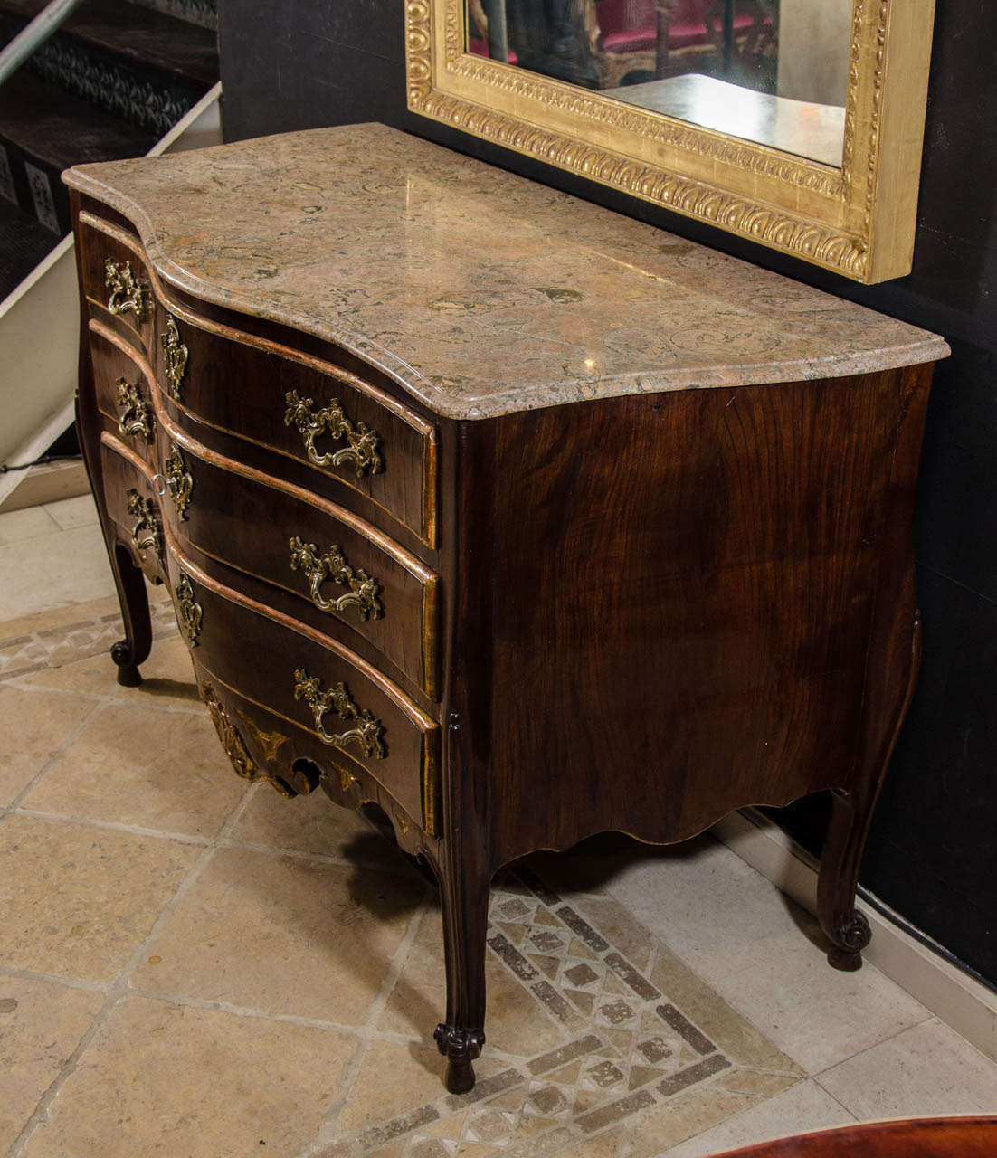 Danish Furniture St Louis Danish Louis Xv Commode At 1stdibs