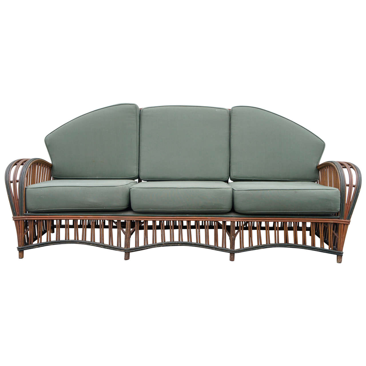 Sofa Dreams France Stick Wicker Sofa At 1stdibs