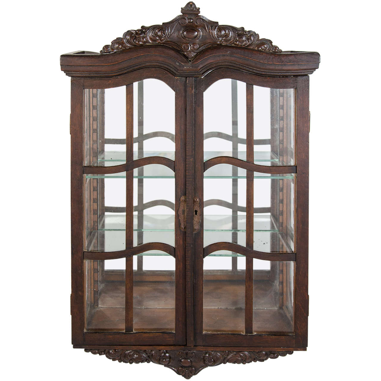 Fullsize Of Wall Curio Cabinet