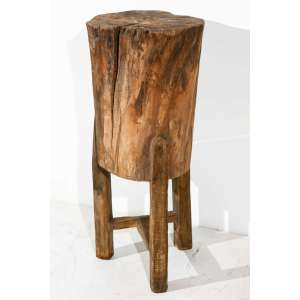 Sterling Stools Glass Tree Stump Table Grain Elevated Tree Trunk Table From Rustic Wear An Organicaddition To Tall Rustic Italian Tree Stump Pedestal Side Table At Tree Stump Table