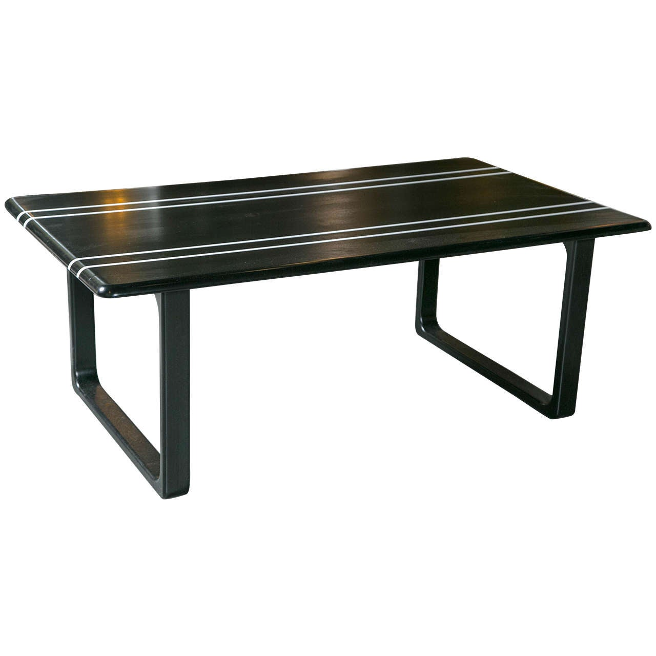 Black Coffee Table For Sale Black And White Lacquered Coffee Table For Sale At 1stdibs