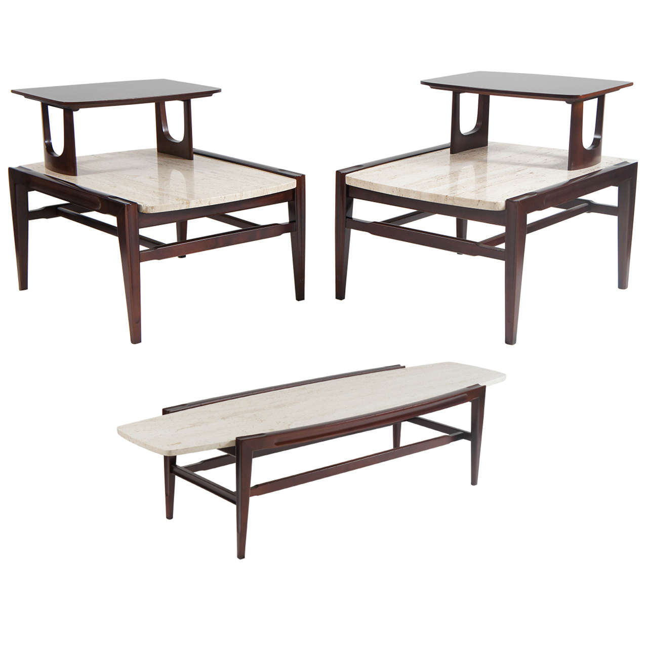 Living Room Side Tables For Sale Mid Century Modern Living Room Set Coffee And Two End