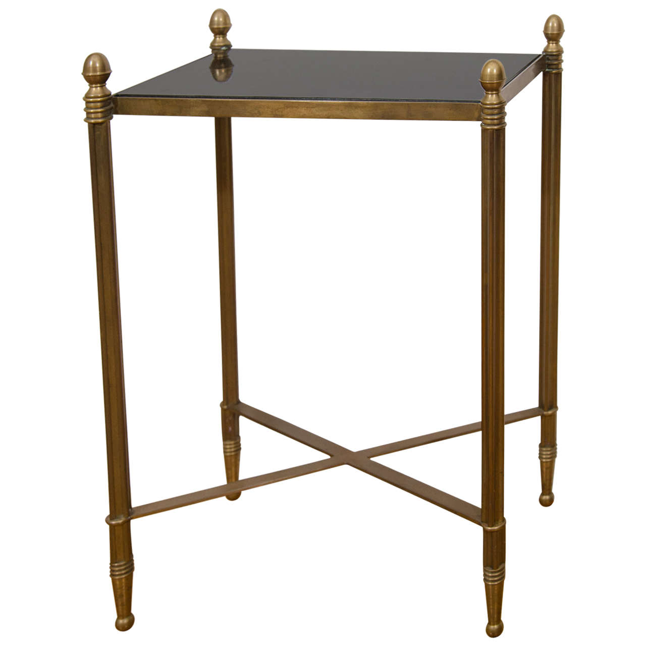 Small Rectangular Side Tables Midcentury Small Bronze Rectangular Side Or Drink Table At