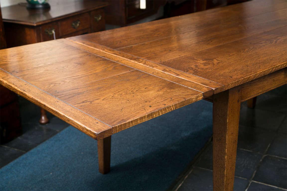 custom english oak gate leg table for sale at 1stdibs