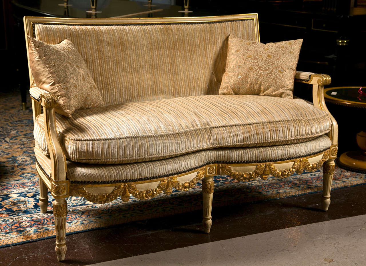 Canape Sofa French Louis Xiv Style Canape Sofa Settee At 1stdibs