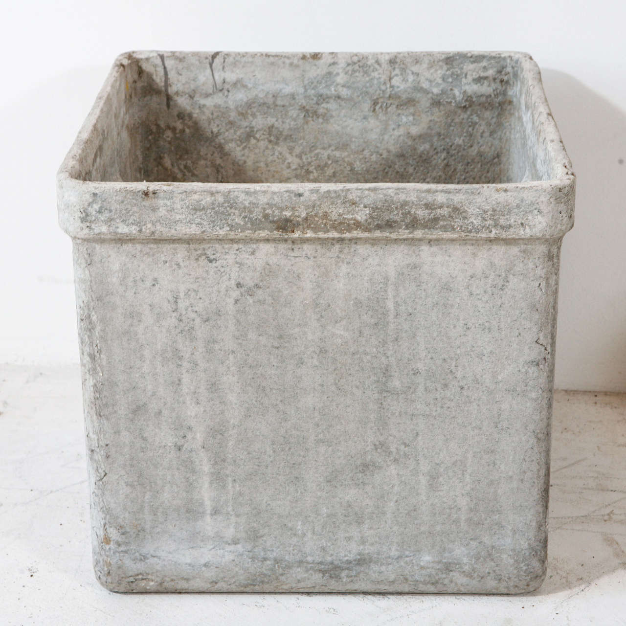 Modern Cement Planters Modern Concrete And Resin Planter At 1stdibs
