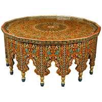 Fabulous Moroccan Coffee Table at 1stdibs