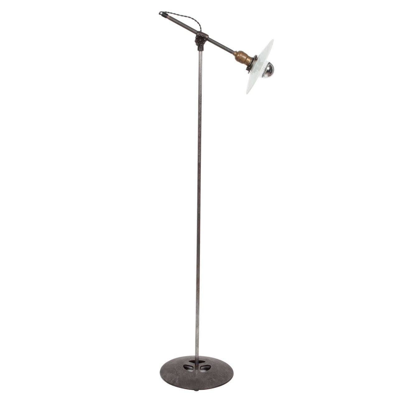 Industrial Lamps For Sale Antique Industrial Floor Lamp By O C White For Sale At