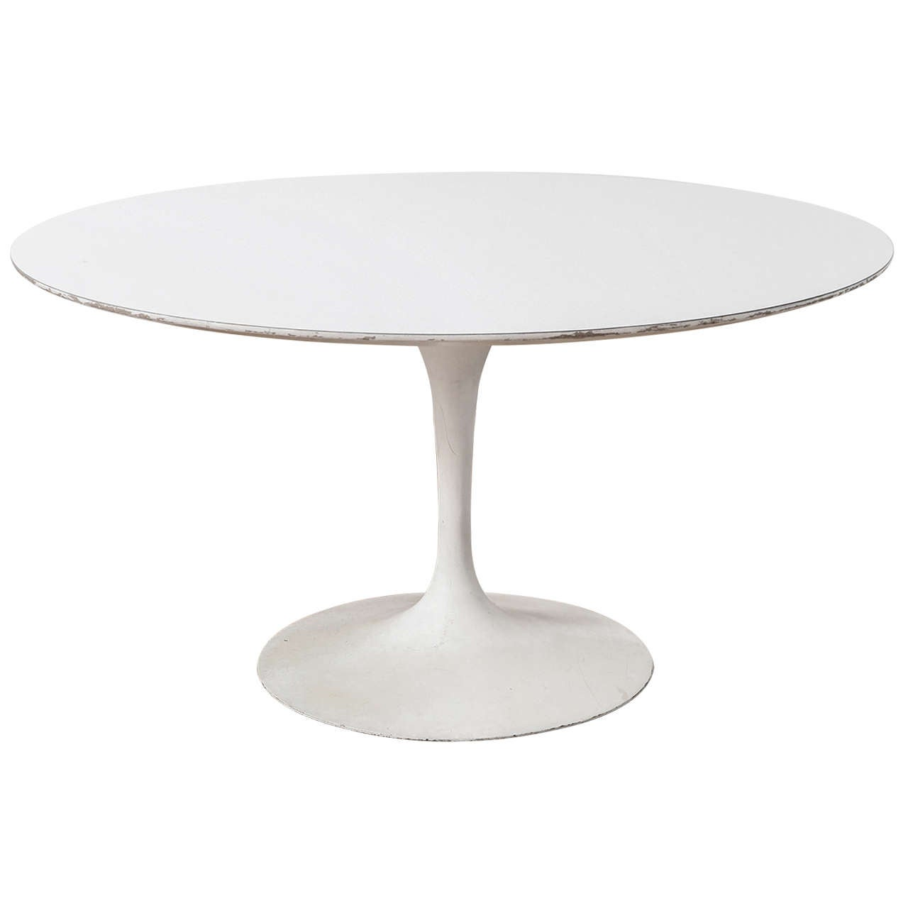 Saarinen Knoll Table Distressed Saarinen For Knoll Tulip Table