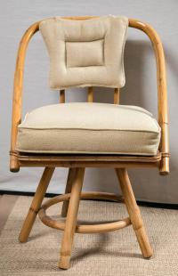 Round Bamboo Chairs