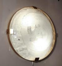 Vintage Murano Glass Flush Mount Light Fixture at 1stdibs